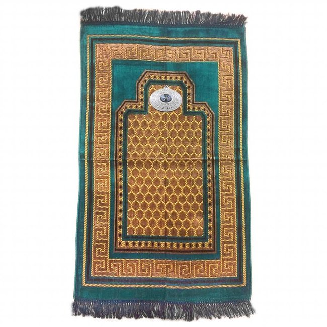 Lila   Islamischer Gebetsteppich Seccade 80x120 cm Stoff Dekonaz