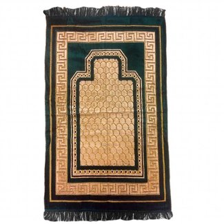 Prayer Mat Seccade in Dark Green