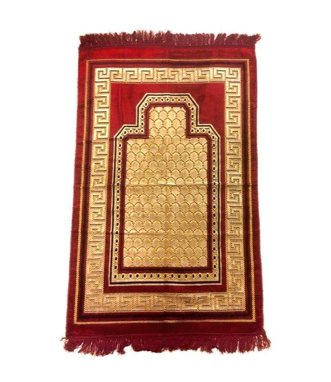 Prayer rug - Seccade in Dark Red