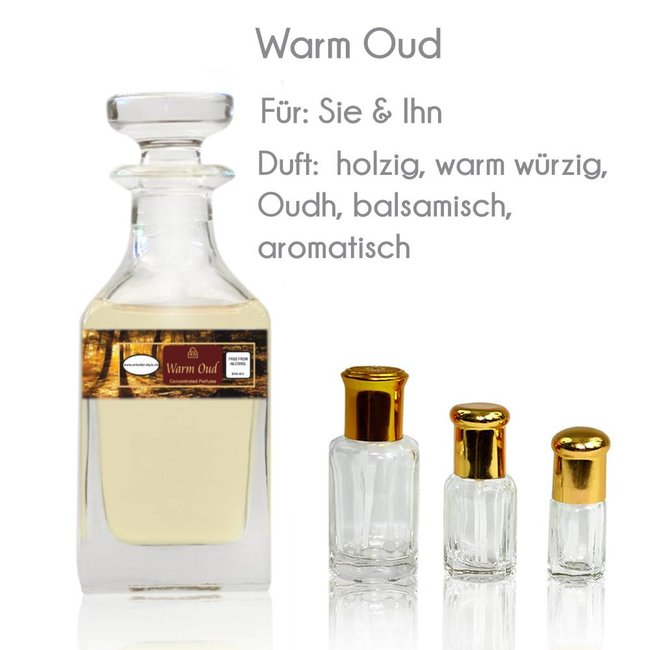 Swiss Arabian Perfume oil Warm Oud