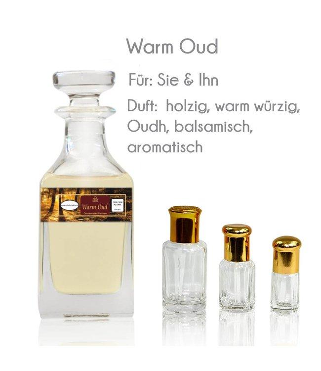 Swiss Arabian Perfume oil Warm Oud - Perfume free from alcohol