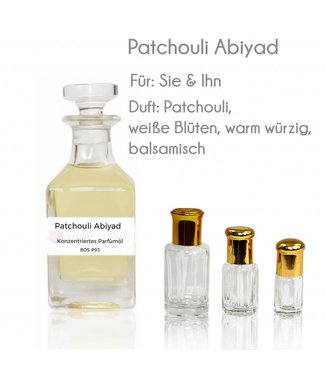 Perfume oil Patchouli Abiyad
