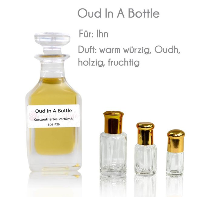 Parfümöl Oud In A Bottle