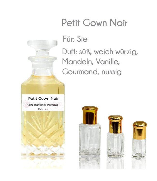 Perfume oil Petit Gown Noir - Perfume free from alcohol
