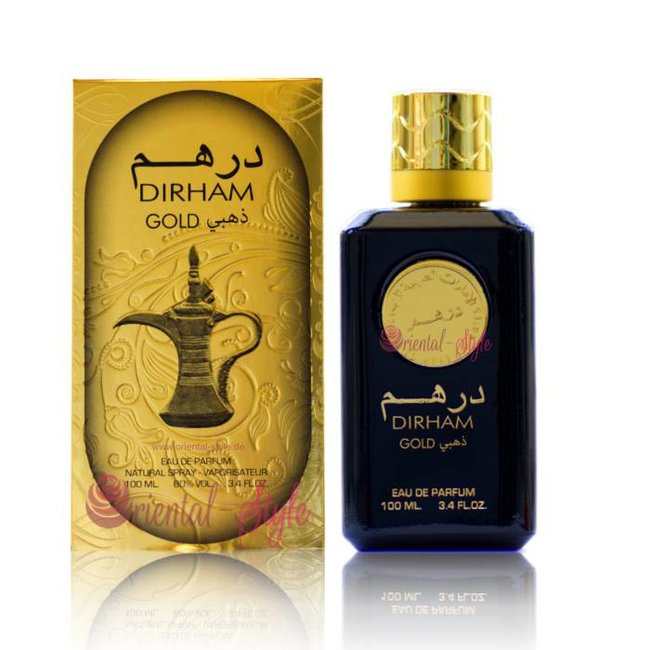Ard Al Zaafaran Perfumes  Dirham Gold Eau de Parfum 100ml Perfume Spray