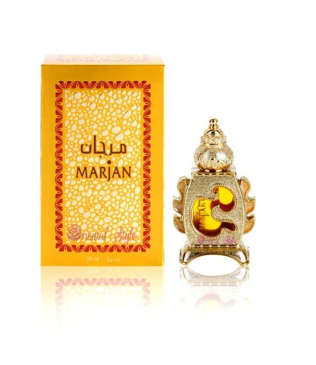Al Haramain Concentrated Perfume Oil 15ml - Marjan by Al Haramain