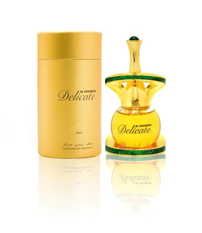 Al Haramain Concentrated perfume oil Delicate 24ml - Perfume free from alcohol