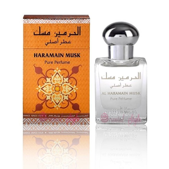 Al Haramain Perfume Oil Musk by Al Haramain 15ml