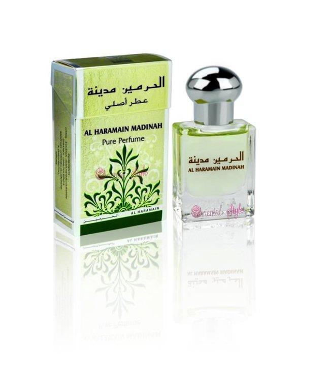 Al Haramain Concentrated Perfume Oil Madinah - Perfume free from alcohol
