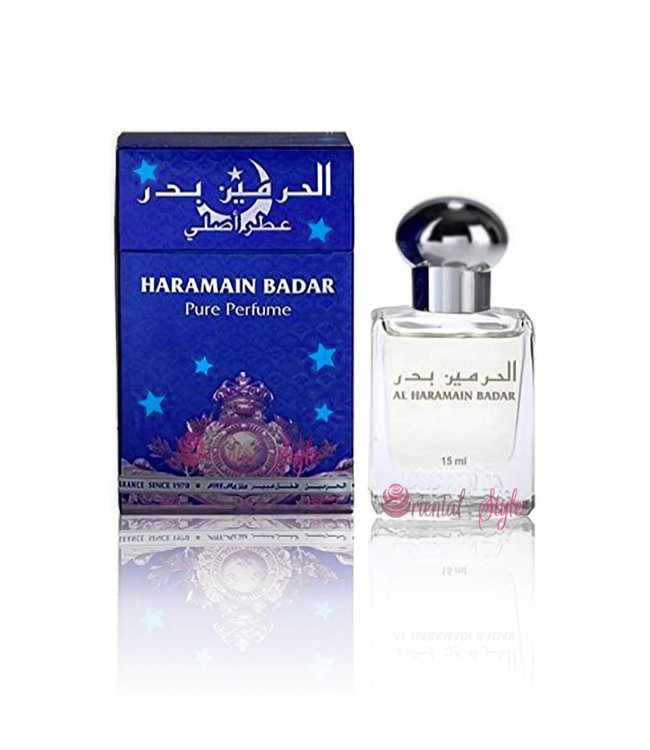 Al Haramain Concentrated Oriental Perfume Oil Badar - Perfume free from alcohol