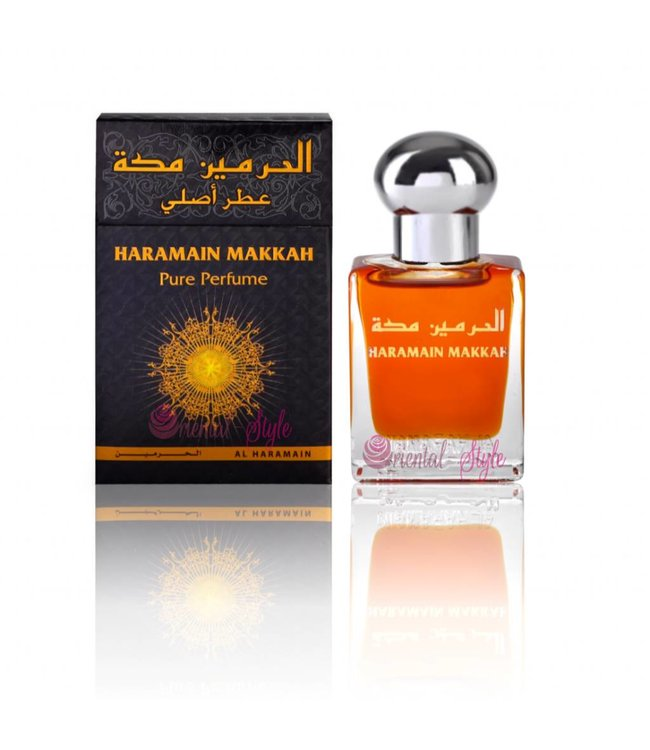 Al Haramain Concentrated Perfume oil Makkah - Perfume free from alcohol