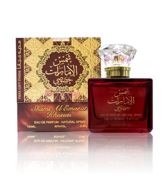 Ard Al Zaafaran Perfumes  Shams Al Emarat Khususi Eau de Parfum 100ml Perfume Spray