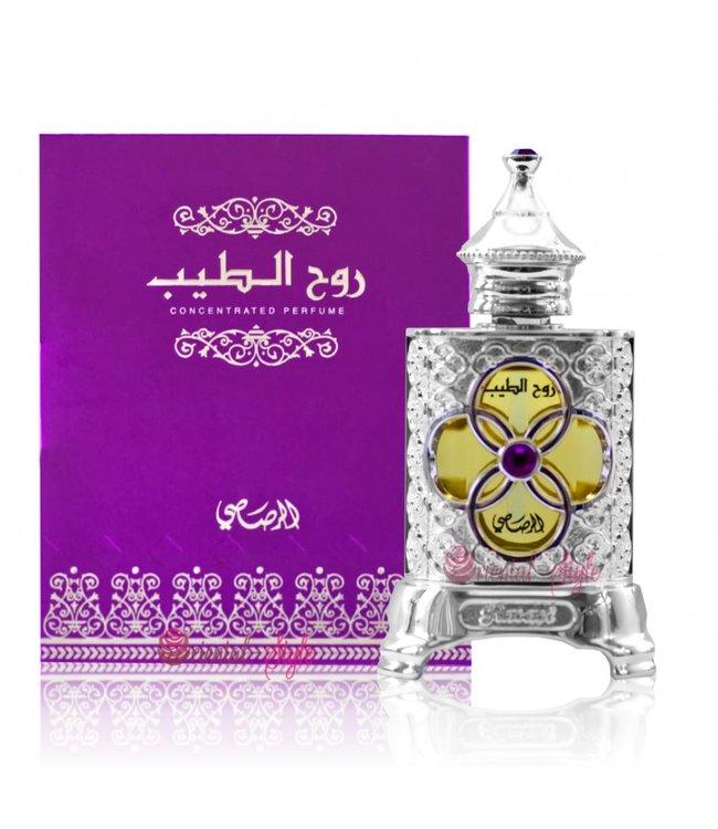 Rasasi Concentrated perfume oil Ruh Al Teeb 15ml - Perfume free from alcohol