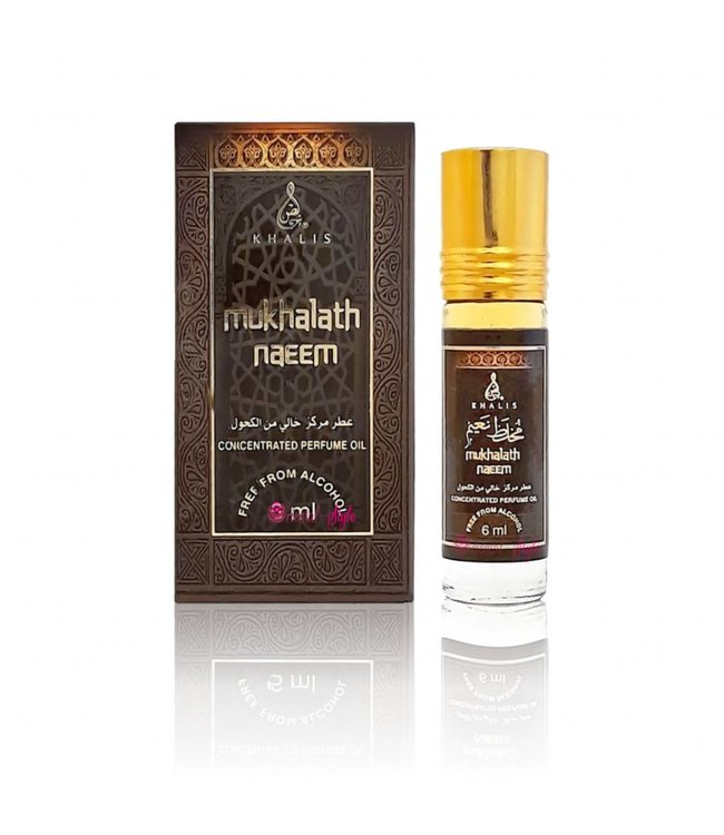 Khalis Perfume Oil Mukhalath Naeem Concentrated 6ml
