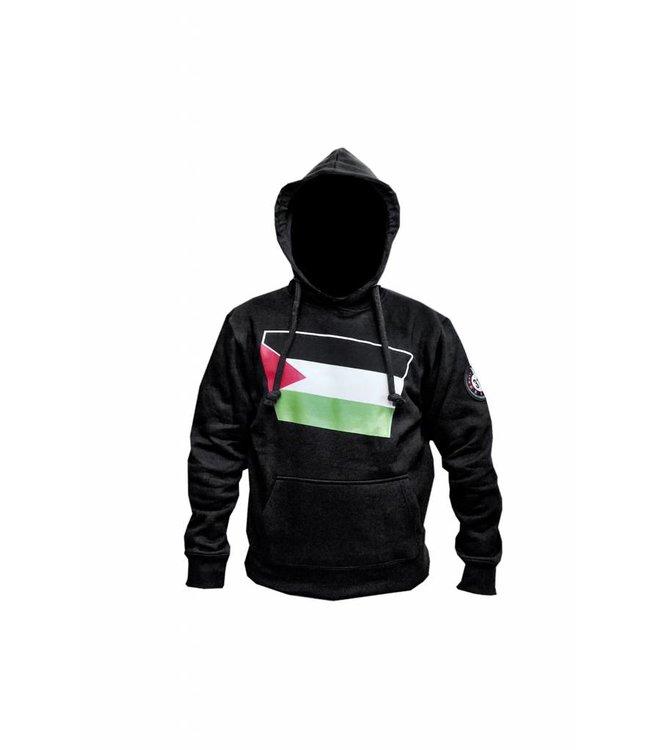 Kapuzen Sweatshirt Hoodie Palästina Flagge
