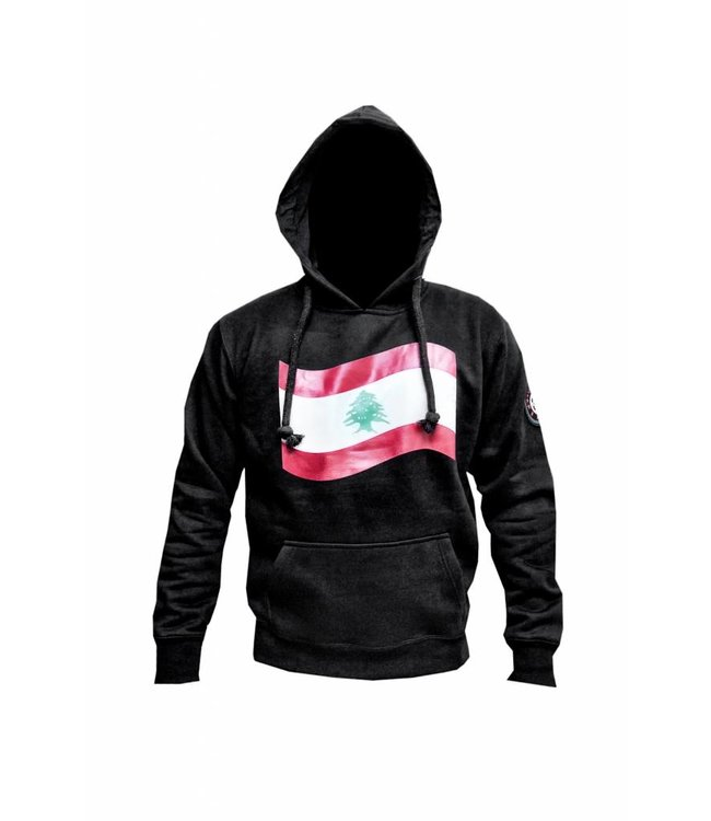 Kapuzen Sweatshirt Hoodie Libanon Flagge