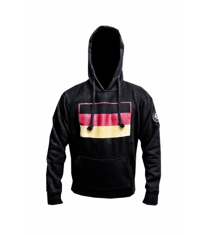 Kapuzen Sweatshirt Hoodie Deutsche Flagge