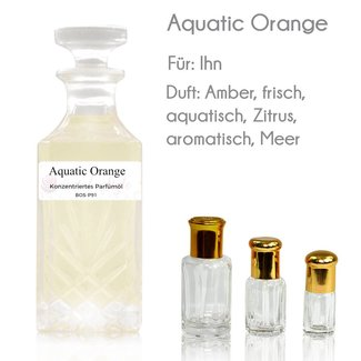 Oriental-Style Perfume Oil Aquatic Orange