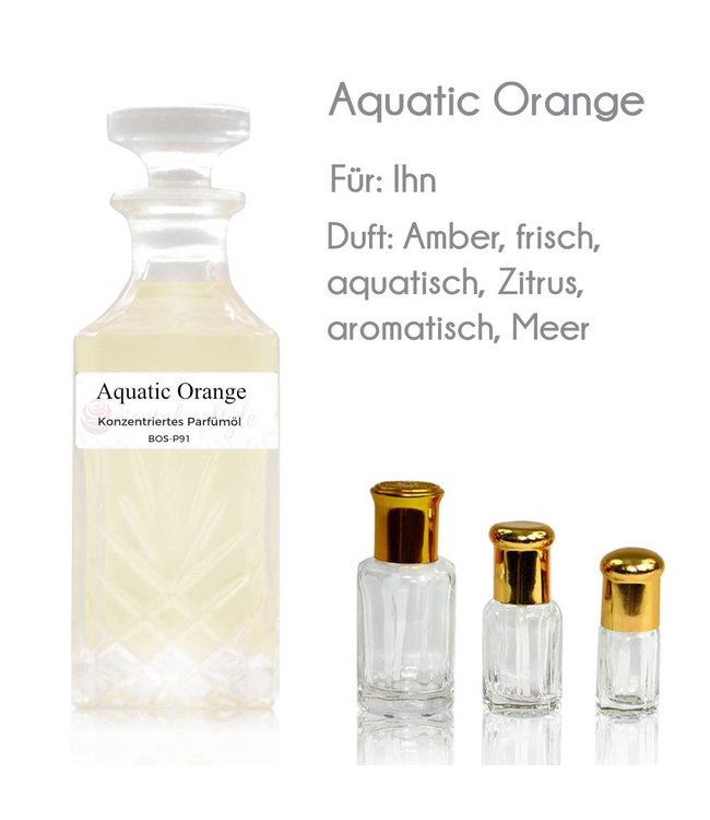 Concentrated perfume oil Aquatic Orange Perfume Free From alcohol