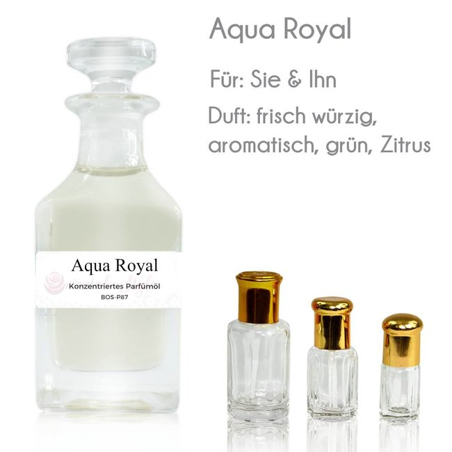 Oriental-Style Parfümöl Aqua Royal