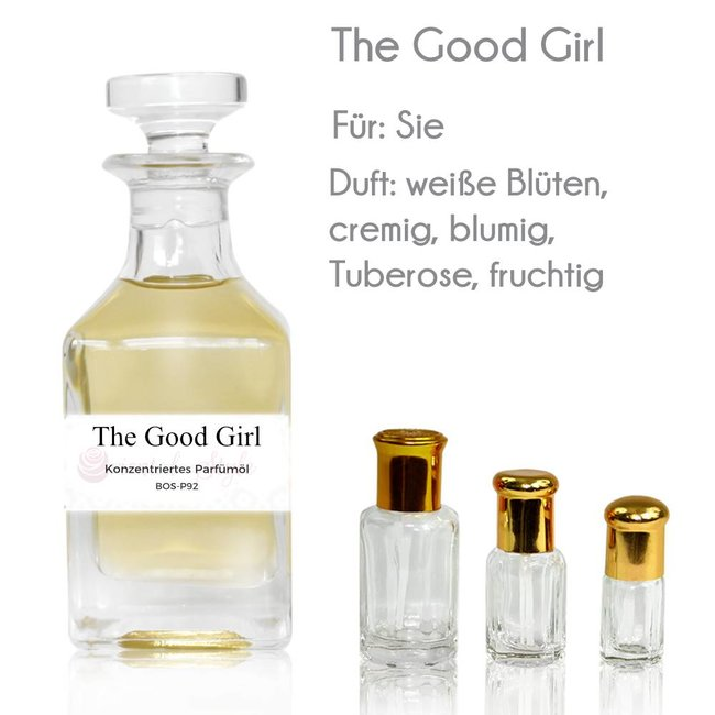 Oriental-Style Perfume Oil The Good Girl