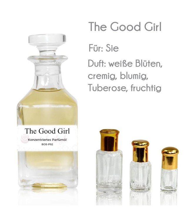 Concentrated perfume oil The Good Girl Perfume Free From alcohol