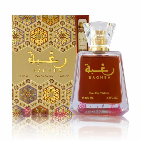 Lattafa Perfumes Raghba Eau de Parfum 100ml by Lattafa Perfume Spray