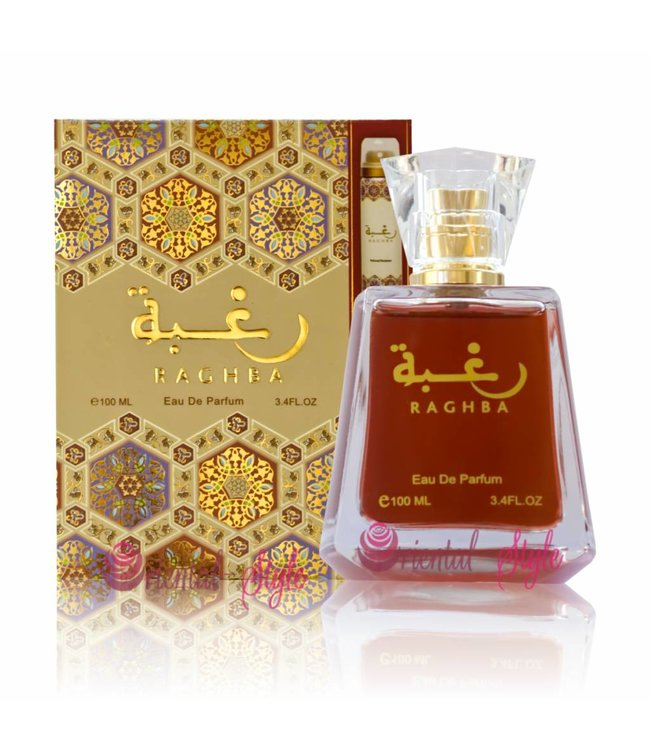 Lattafa Perfumes Raghba Eau de Parfum 100ml by Lattafa Perfume Spray
