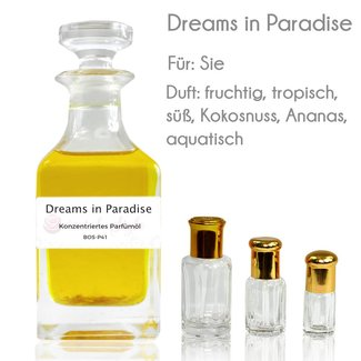 Perfume Oil Dreams in Paradise