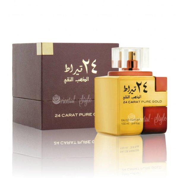 Lattafa Perfumes 24 Carat Pure Gold Eau de Parfum 100ml by Lattafa Perfume Spray