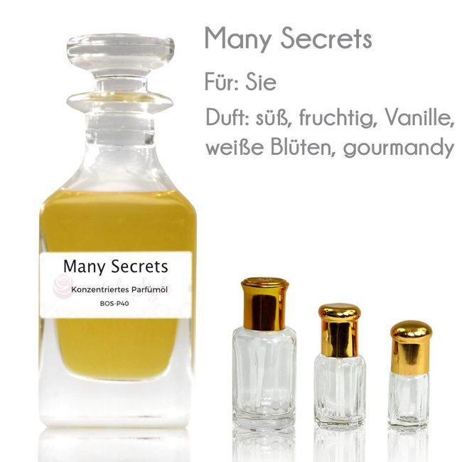 Oriental-Style Parfümöl Many Secrets
