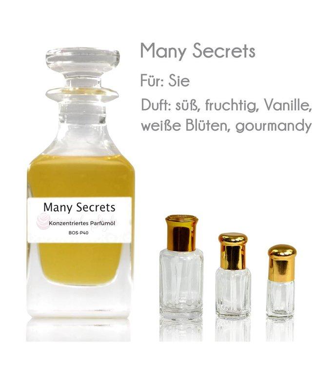 Many Secrets Parfümöl - Parfüm ohne Alkohol
