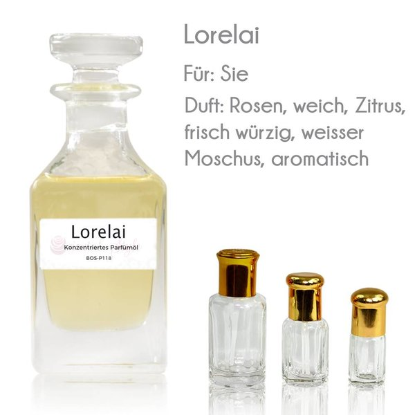 Oriental-Style Lorelai Parfümöl - Parfüm ohne Alkohol