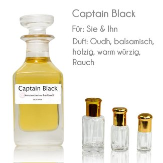 Oriental-Style Perfume Oil Captain Black