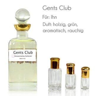 Parfümöl Gents Club
