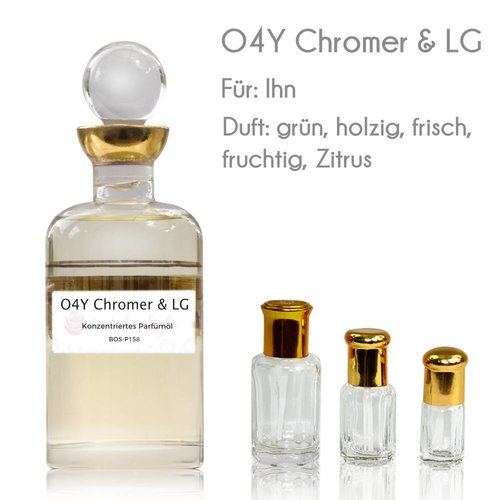 Oriental-Style Parfümöl O4Y Chromer & LG