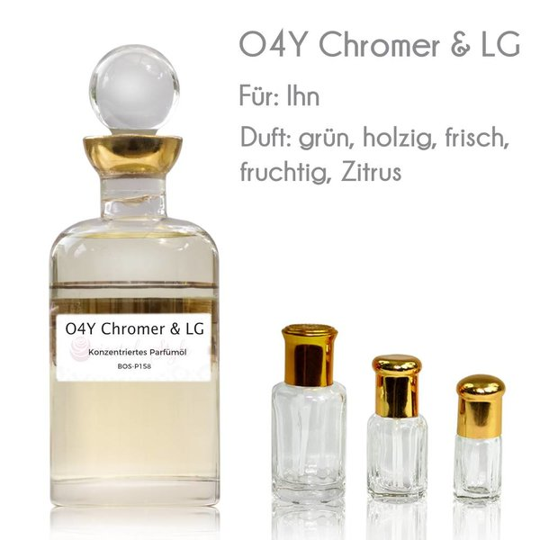 Oriental-Style Concentrated perfume oil O4Y Chromer & LG Perfume Free From alcohol