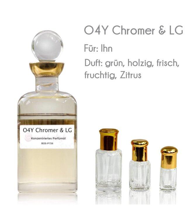 O4Y Chromer & LG Parfümöl - Parfüm ohne Alkohol