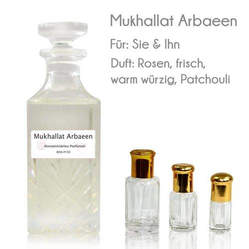 Oriental-Style Parfümöl Mukhallat Arbaeen