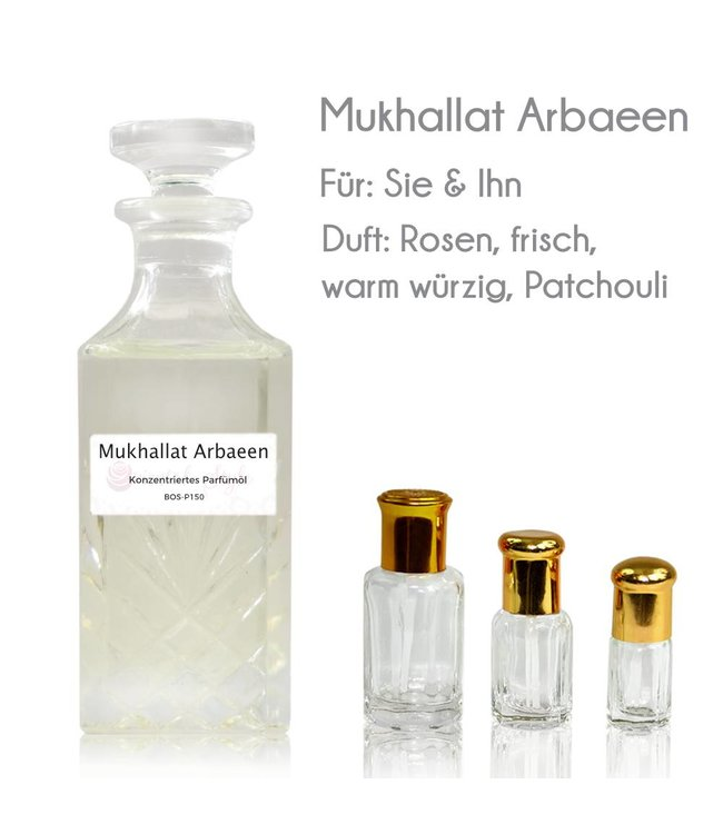 Swiss Arabian Concentrated perfume oil Mukhallat Arbaeen Perfume Free From alcohol