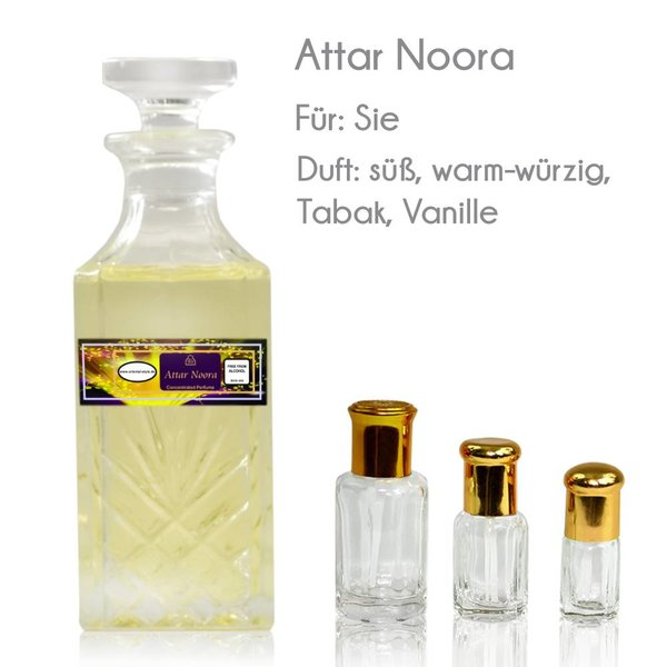 Oriental-Style Concentrated perfume oil Attar Noora - Perfume free from alcohol