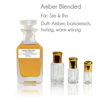 Swiss Arabian Perfume oil Amber Blended