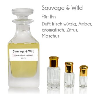 Sultan Essancy Perfume Oil Sauvage & Wild