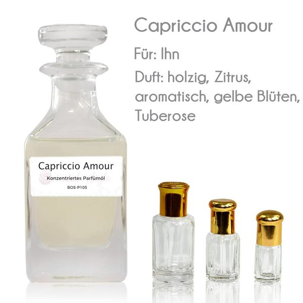 Oriental-Style Concentrated perfume oil Capriccio Amour Perfume Free From alcohol