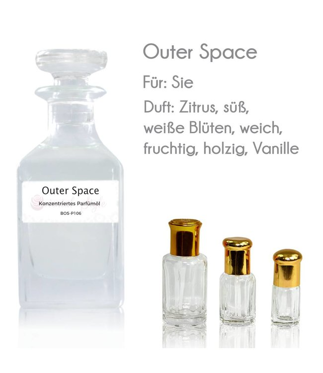 Concentrated perfume oil Outer Space Perfume Free From alcohol