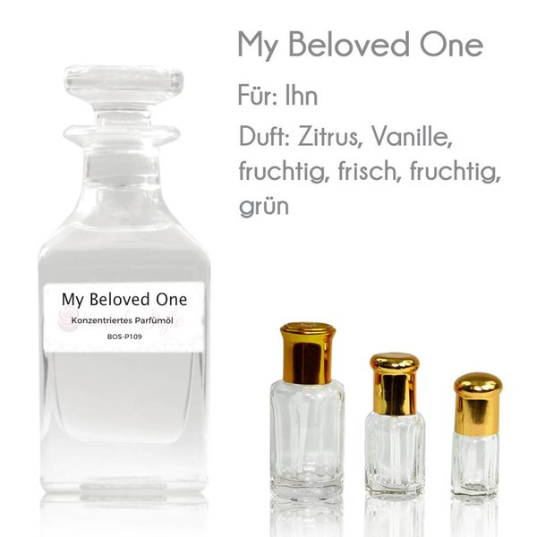Oriental-Style Concentrated perfume oil My Beloved One Perfume Free From alcohol