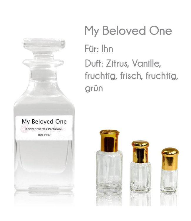 Concentrated perfume oil My Beloved One Perfume Free From alcohol