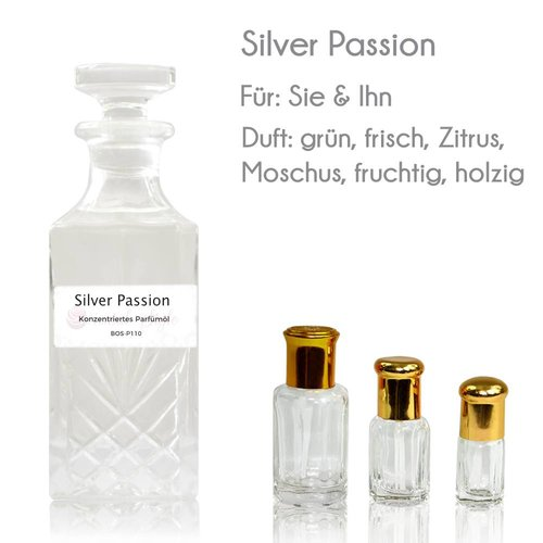 Oriental-Style Perfume Oil Silver Passion