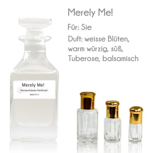 Oriental-Style Perfume Oil Merely Me!