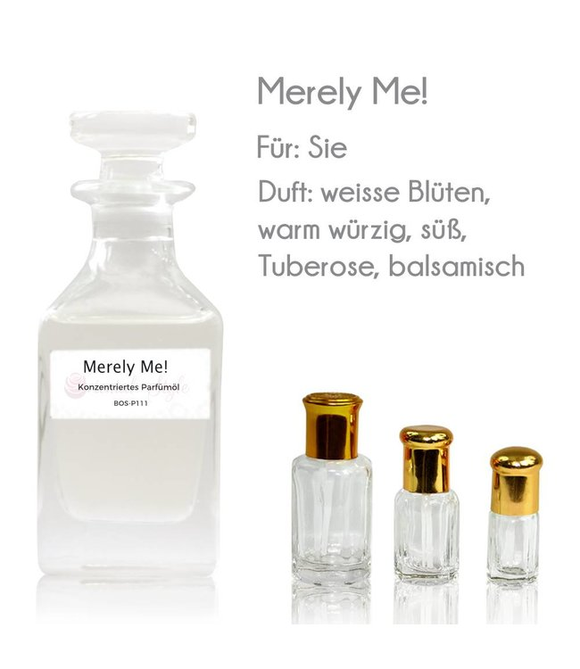 Concentrated perfume oil Merely Me! Perfume Free From alcohol